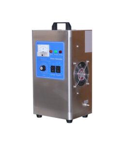 Ozone machine + check valve