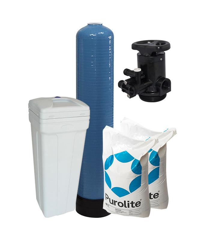 600-1500 LPH 1054 Manual Water Softener